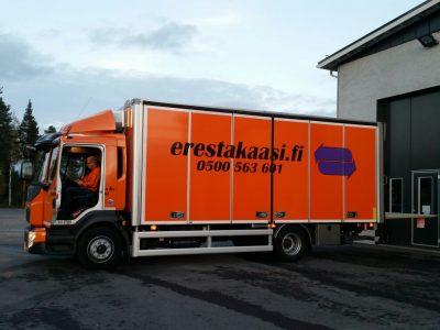 Kuljetuskalusto vahvistui kuorma-autolla