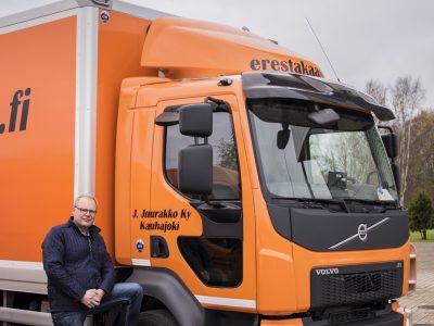Erestakaasi uudistuu: kuljetuspalvelut yhä laadukkaammin ja edullisemmin