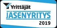 Suomen Yrittäjien jäsenyritys 2019
